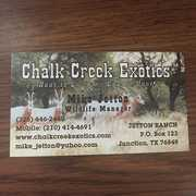 Chalk Creek Exotics profile photo